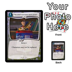 Toy Story 3 Of 5 By Orion s Bell   Multi Purpose Cards (rectangle)   0utq67n69u3t   Www Artscow Com Front 21