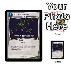 Toy Story 3 Of 5 By Orion s Bell   Multi Purpose Cards (rectangle)   0utq67n69u3t   Www Artscow Com Front 22