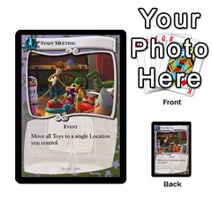 Toy Story 4 Of 5 By Orion s Bell   Multi Purpose Cards (rectangle)   Hrcllpl5y7j1   Www Artscow Com Front 19