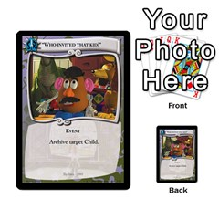 Toy Story 5 Of 5 By Orion s Bell   Multi Purpose Cards (rectangle)   Fl3k303ut9uk   Www Artscow Com Front 35