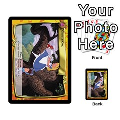 Alice In Wonderland 1 Of 6 By Orion s Bell   Multi Purpose Cards (rectangle)   A6zqcs7utewt   Www Artscow Com Front 3
