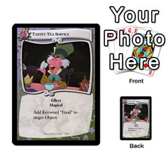 Alice In Wonderland 4 Of 6 By Orion s Bell   Multi Purpose Cards (rectangle)   Tntjeq39oxd2   Www Artscow Com Front 28