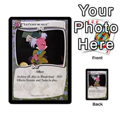Alice In Wonderland 4 Of 6 By Orion s Bell   Multi Purpose Cards (rectangle)   Tntjeq39oxd2   Www Artscow Com Front 47