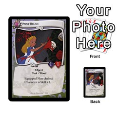 Alice In Wonderland 5 Of 6 By Orion s Bell   Multi Purpose Cards (rectangle)   Qp2ngwg0rw3c   Www Artscow Com Front 39