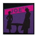 Film Noir Scene Tile Coaster