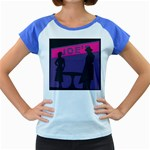 Film Noir Scene Women s Cap Sleeve T-Shirt