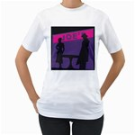 Film Noir Scene Women s T-Shirt
