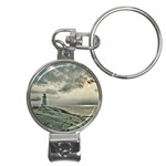 Peggy s Cove Lighthouse Nail Clippers Key Chain