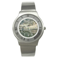 Peggy s Cove Lighthouse Stainless Steel Watch from ArtsNow.com Front
