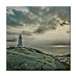 Peggy s Cove Lighthouse Tile Coaster