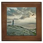 Peggy s Cove Lighthouse Framed Tile