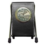 Peggy s Cove Lighthouse Pen Holder Desk Clock