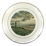 Peggy s Cove Lighthouse Porcelain Plate