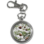 Frost Flowers Key Chain Watch