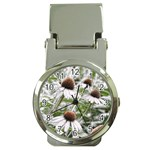 Frost Flowers Money Clip Watch