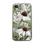 Frost Flowers Apple iPhone 4 Case (Clear)