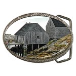 Peggy s Cove Dock Belt Buckle