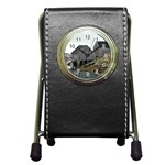 Peggy s Cove Dock Pen Holder Desk Clock