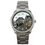 Peggy s Cove Dock Sport Metal Watch