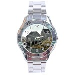 Peggy s Cove Dock Stainless Steel Analogue Men's Watch