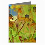 Rudbeckia Garden Greeting Card