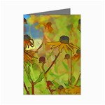 Rudbeckia Garden Mini Greeting Card