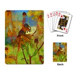 Rudbeckia Garden Playing Cards Single Design