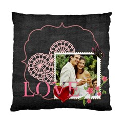 Love By Joely   Standard Cushion Case (two Sides)   Urgn43e6op76   Www Artscow Com Back