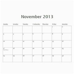 20133 By Cure   Wall Calendar 11  X 8 5  (12 Months)   P3ynt688qux7   Www Artscow Com Nov 2013