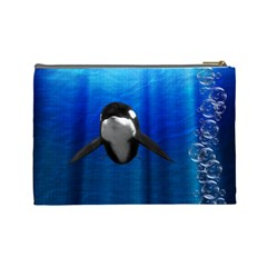 Sea Love By Chaido   Cosmetic Bag (large)   0jgl19fcikop   Www Artscow Com Back