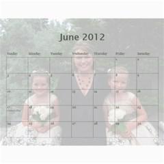 2011 Calendar By Sharon   Wall Calendar 11  X 8 5  (12 Months)   Ys8yhhm7p2p7   Www Artscow Com Jun 2012