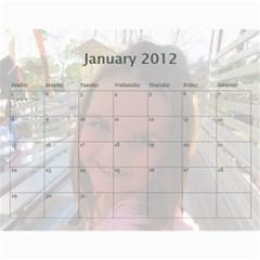 2011 Calendar By Sharon   Wall Calendar 11  X 8 5  (12 Months)   Ys8yhhm7p2p7   Www Artscow Com Jan 2012