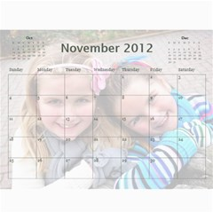 2011 calendar by Sharon Nov 2012