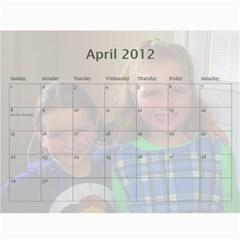 2011 Calendar By Sharon   Wall Calendar 11  X 8 5  (12 Months)   Ys8yhhm7p2p7   Www Artscow Com Apr 2012