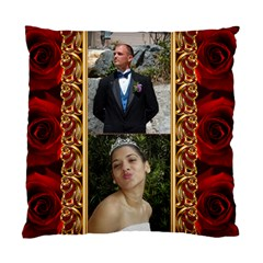 My Rose Cushion Case (2 Sided) By Deborah   Standard Cushion Case (two Sides)   Ptvsyiks6cnw   Www Artscow Com Back