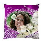 Love and roses cushion case (2 Sided) - Standard Cushion Case (Two Sides)
