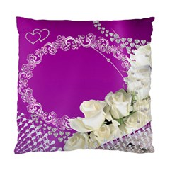 Love And Roses Cushion Case (2 Sided) By Deborah   Standard Cushion Case (two Sides)   Lg6czlaofucf   Www Artscow Com Back