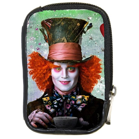 Alice In Wonderland 3 By Chaido   Compact Camera Leather Case   Ywhdf633svc0   Www Artscow Com Front