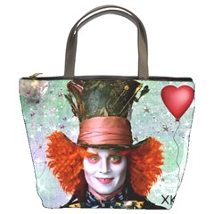 Alice In Wonderland 5 By Chaido   Bucket Bag   Bvwk4xr37w43   Www Artscow Com Front