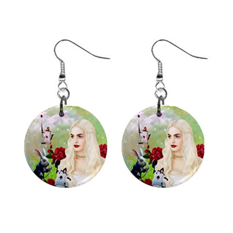 Alice  By Chaido   1  Button Earrings   7gp7nojms377   Www Artscow Com Front