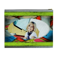 Skaters Rule Cosmetic Case By Danielle Christiansen   Cosmetic Bag (xl)   92dwx7dqjm7z   Www Artscow Com Back