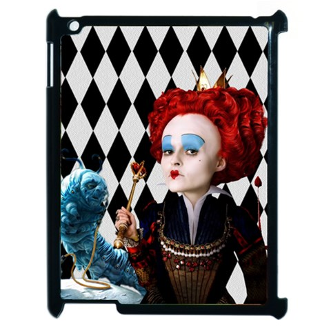 The Red Queen Apple Ipad 2 Case By Chaido   Apple Ipad 2 Case (black)   Vr6bbl2qxeme   Www Artscow Com Front