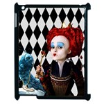 The Red Queen Apple iPad 2 case - Apple iPad 2 Case (Black)