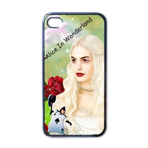Alice Apple Iphone 4 Case By Chaido   Apple Iphone 4 Case (black)   Zmtoz2s13mg5   Www Artscow Com Front