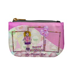 My Beautiful Girl Purse By Claire Mcallen   Mini Coin Purse   3pfi21138civ   Www Artscow Com Front