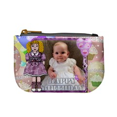 My Beautiful Girl Lilac Dress New Purse By Claire Mcallen   Mini Coin Purse   395ewoimi3vy   Www Artscow Com Front