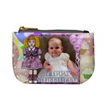 My Beautiful Girl lilac dress new purse - Mini Coin Purse