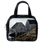 Peggy s Cove Dock Classic Handbag (One Side)