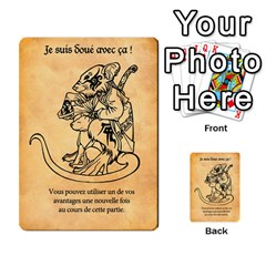 T By Killerklown   Multi Purpose Cards (rectangle)   Gtrhf9y53g18   Www Artscow Com Frontback
