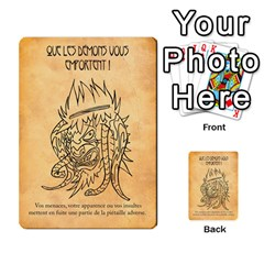 Bol Cards By Killerklown   Multi Purpose Cards (rectangle)   8fem91usq4cn   Www Artscow Com Front 2